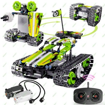 RC Tracked Racer Building Kit for 8 and 16 Years Old Kids
